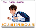 ECOLE - CANTINE - GARDERIE
